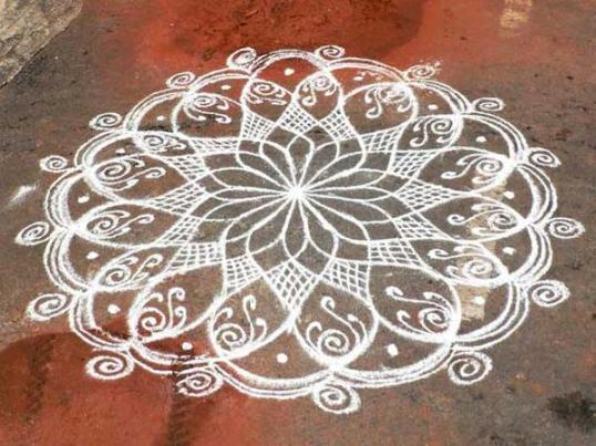Images Of Pongal Rangoli | New Calendar Template Site