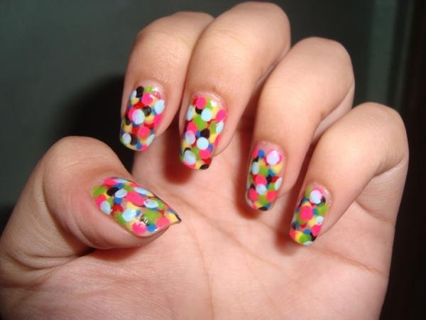 Simple But Beautiful Nail Art Designs : Easy nail designs kozhikodan for you